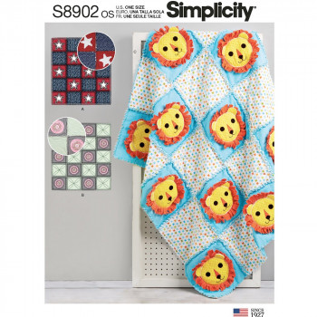 Simplicity Pattern S8902 Rag Quilts