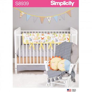Simplicity Pattern S8939 Nursery Decor