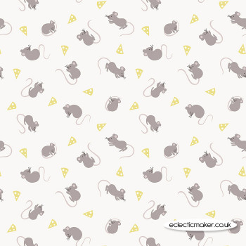 Lewis and Irene - Small Things Country Creatures - Mice on Cream