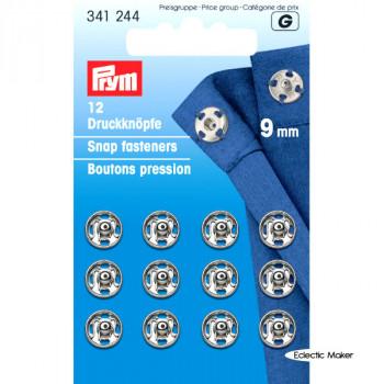 Prym Snap Fasteners / Press Studs (Sew-On) - 9mm