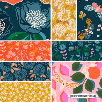Ruby Star Society- Stay Gold Fabric Bundle by Melody Miller