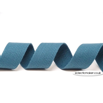Strap Webbing Heavy Weight in Dusky Blue - 30mm x 5m