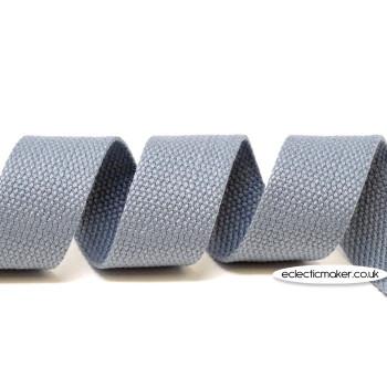 Strap Webbing Heavy Weight in Grey - 30mm x 5m