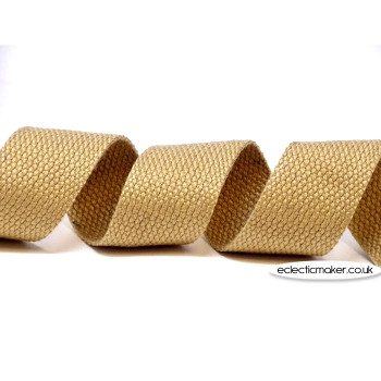 Strap Webbing Heavy Weight in Natural - 30mm x 5m