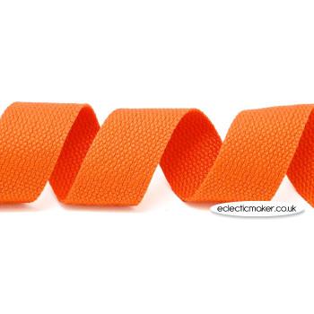 Strap Webbing Heavy Weight in Orange - 30mm x 5m