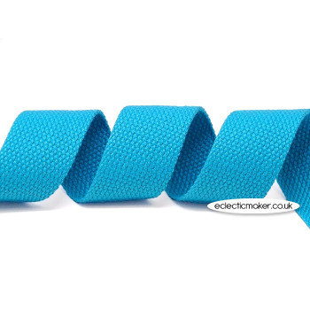 Strap Webbing Heavy Weight in Turquoise - 30mm x 5m