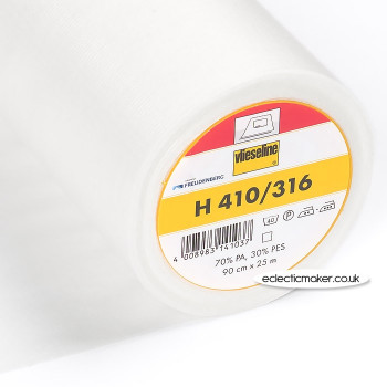 Vlieseline H410 Fusible Interlining in White - Iron-On