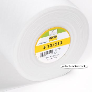 Vlieseline S13 Sew-In Interlining in White - Heavy Weight