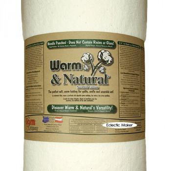 Warm & Natural Cotton Batting - 90 inch