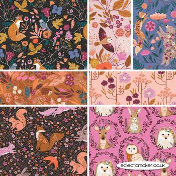 Dashwood Studio Fabrics - Wild - Fabric Bundle