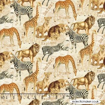 Windham Fabrics - Expedition - Safari in Multi