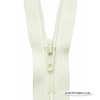YKK Zipper Dress & Skirt in Cream