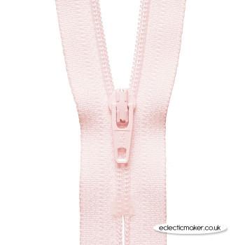 YKK Zipper Dress & Skirt in Powder Pink